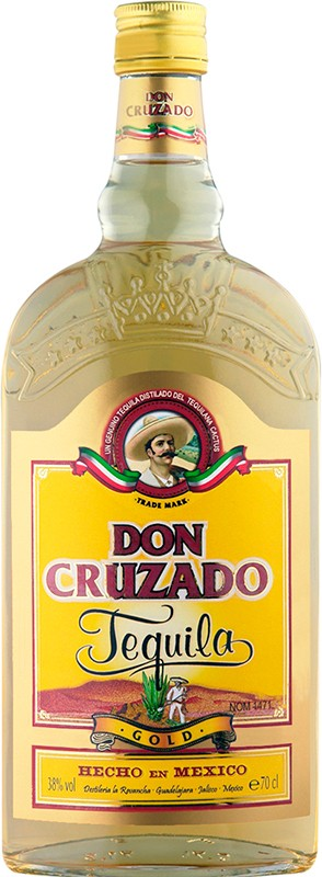 Don Cruzado Tequila Gold Fl 70