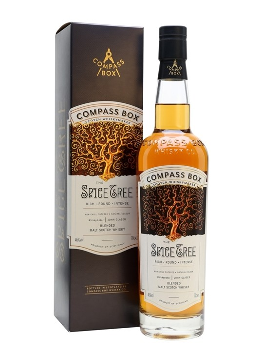 "Compass Box ""The Spice Tree"" Blended Scotch Fl 70"