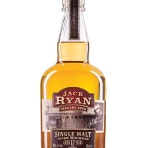 Jack Ryan 12 Yo Single Malt Irish Whiskey Fl 70
