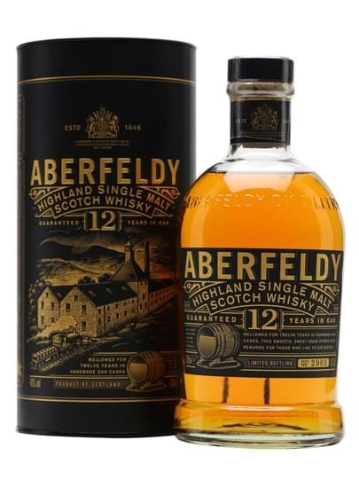 Aberfeldy 12 YO Highland Single Malt FL 70