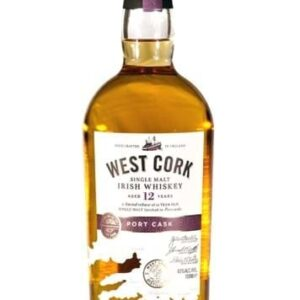 West Cork 12 YO Port Cask Irish Single Malt FL 70