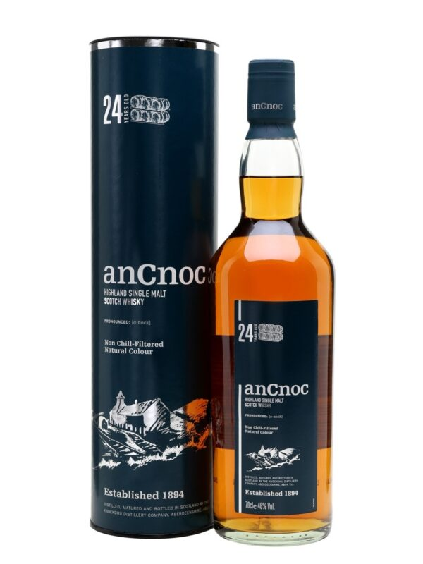 AnCnoc 24 YO Speyside Single Malt